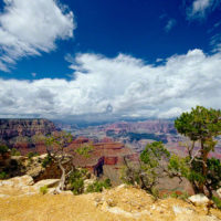 Morning Clouds at the Grand Canyon