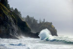 Wave at Cape Disappointment Lighthouse